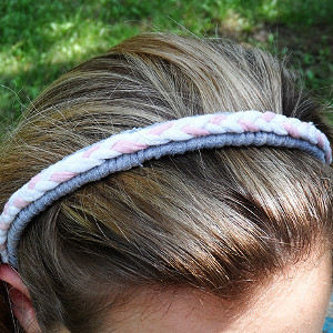 Brilliant Braided T-Shirt Headband