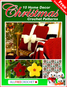 85 Christmas Decoration Ideas & Christmas Crochet Patterns