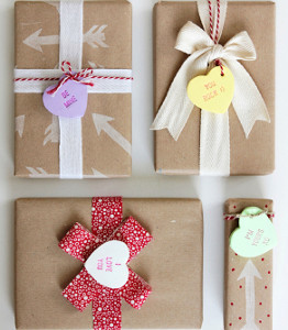 Candy Heart Favor Tags