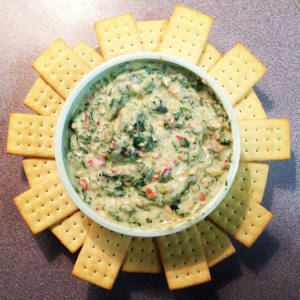 Make At Home Trader Joe's Spinach & Kale Greek Yogurt Dip