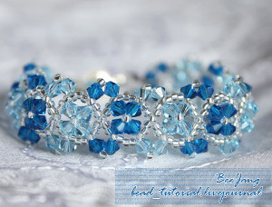 Snowflower Bracelet Pattern