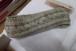 Cabled Crown Headband Allfreeknitting Com