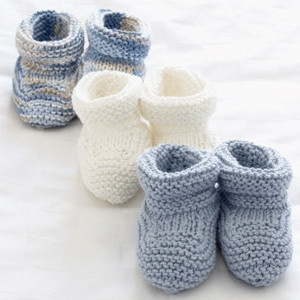 Wool Diaper Cover Knitting Pattern : How to Knit Baby Booties: 25 Adorable Patterns AllFreeKnitting.com