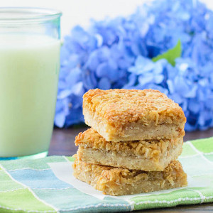 Golden Coconut Bars