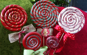 christmas lollipop ornaments