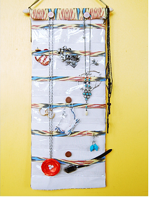 DIY Hanging Jewelry Organizer AllFreeSewingcom