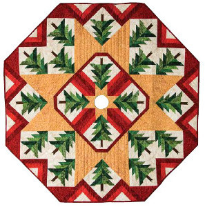 Quilted Christmas Tree Skirt Favequilts Com