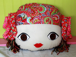 Oversized Doll Pillow Tutorial
