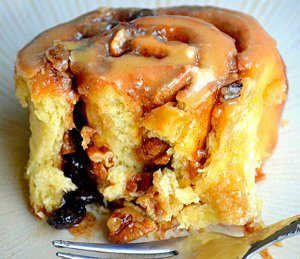 Outrageous Overnight Glazed Cinnamon Rolls