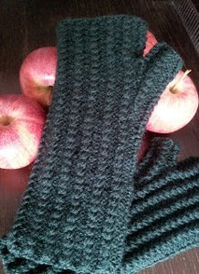Autumn Harvest Fingerless Gloves