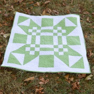 Christopher's Missouri Puzzle Star Quilt