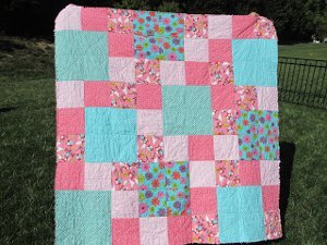 Floating Squares Rag Quilt Favequilts Com