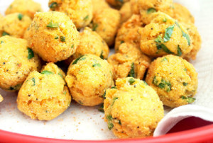Spicy Creole Hush Puppies