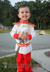 The Cutest Prince Charming Costume Ever