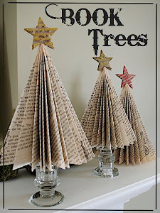 How to make christmas tree with books