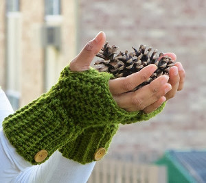 Stylish Fall Fingerless Gloves