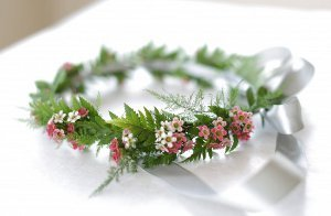 DIY Floral Head Wreath