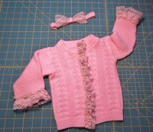One Hour Vintage Toddler Sweater