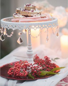 Antique DIY Cake Stand