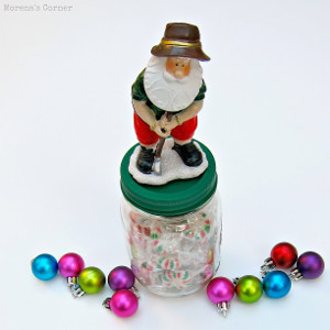 Decorated Mason Jar Teacher Gift Idea