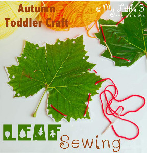 Autumn Leaf Sewing Project