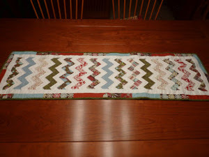 Crafty Christmas Table Runner