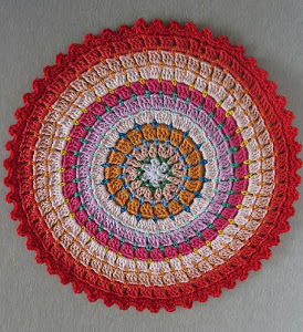 Colorful Ringed Rug