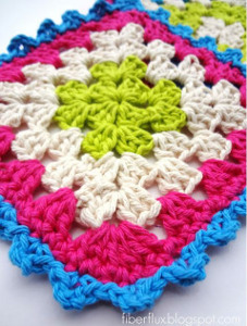 Sweet Cupcake Dishcloth