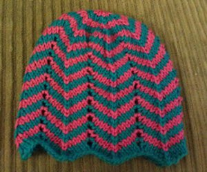 Chevron Baby Hat