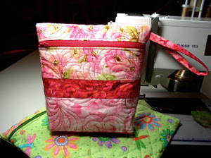 Quilted Zipper Bag