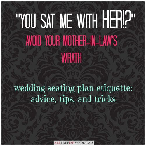 How to Make a Wedding Seating Chart: Ideas and Etiquette ...