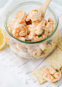 Quick Pickled Shrimp
