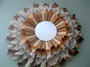 Paper art for home decoration.