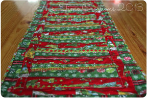 Deck the Halls Christmas Table Runner