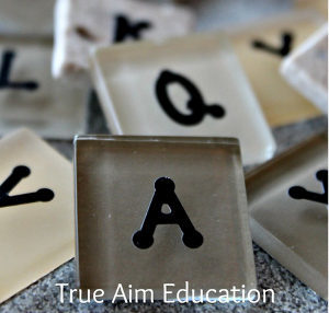 DIY Bananagrams Game