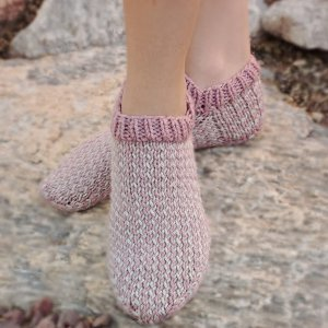 Berries and Cream Slipper Socks