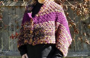 Convertible Shell Shawl