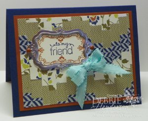 Pretty Paper Quilt Card