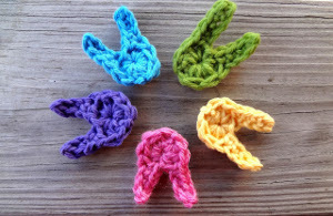 Little Crochet Easter Bunnies