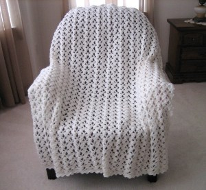 Marshmallow Fluff Afghan Favecrafts Com