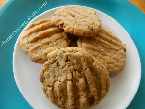 Better For You Peanut Butter Cookies