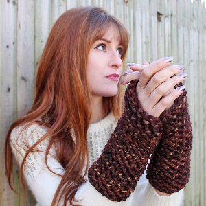 Pinecone Arm Warmers