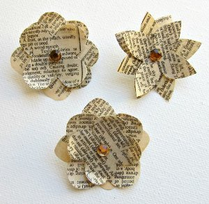 Paper Flower Push Pins