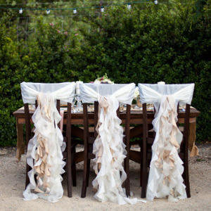 Curly Fabric Chair Covers