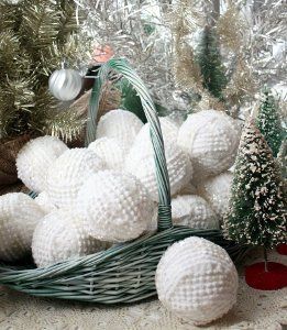 Snowballs from Bedspreads