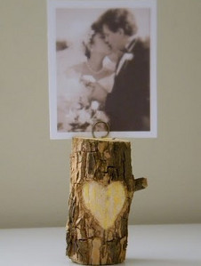Lovely Woodland Escort Card Holders