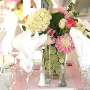 Sassy Lime DIY Centerpieces