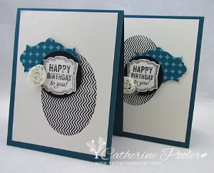 Simply Stamped Birthday Card
