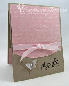 Above and Beyond Butterfly Card
