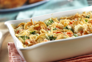 Swiss Cheese Vegetable Casserole
